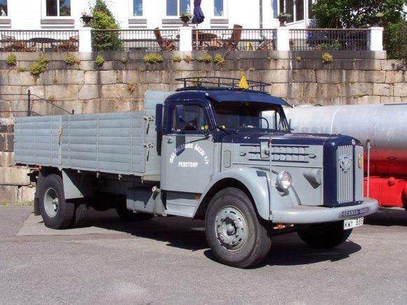 "Henrik Sendelbach/Wikimedia Commons nuotr./""Scania-Vabis"" sunkvežimis"