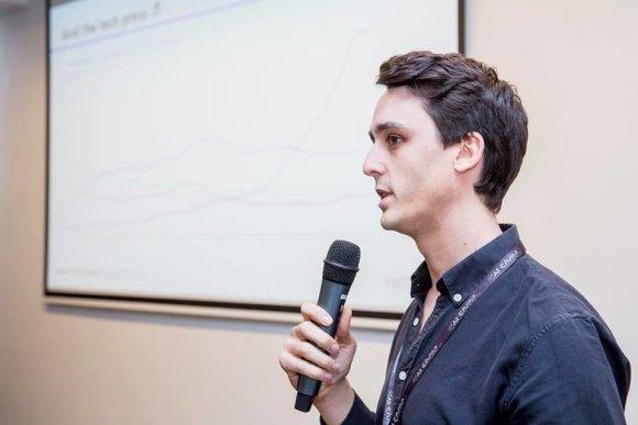 AI CAMP organizatorių nuotr./Nathan Benaich