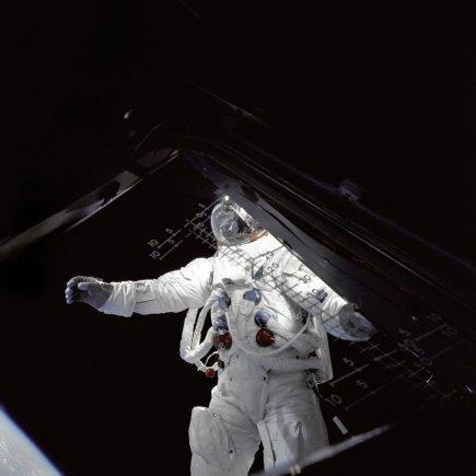 Nasa.gov iliustr./Astronautas Rusty Schweickartas