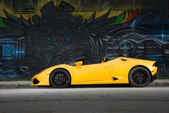 Autoplius.lt nuotr./Lamborghini Huracan Spyder