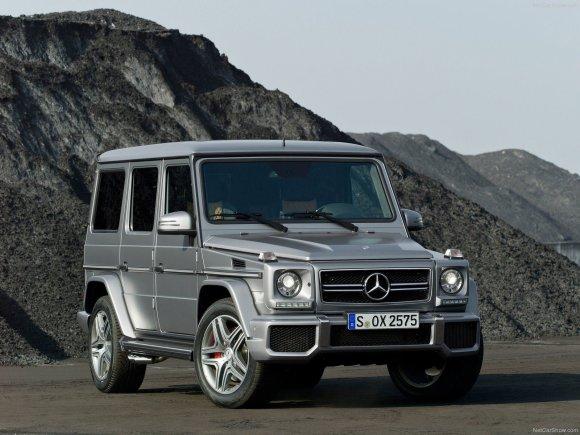 Autoplius.lt nuotr./Mercedes-Benz G63 AMG