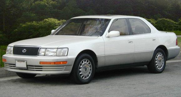 "Wikimedia Commons iliustr./Enigma3542002 /1989 m. JAV pristatytas pirmasis ""Lexus"" modelis LS"