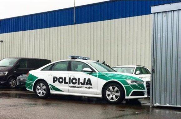 Instagram nuotr./Policijos automobilio dizaino variantas