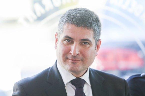 Irmanto Gelūno/15min.lt nuotr./Neringos meras socialdemokratas Darius Jasaitis