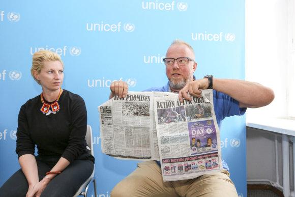 Irmanto Gelūno / 15min nuotr./Iš Svazilando Grįžo UNICEF misijos dalyviai