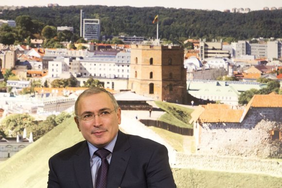 Irmanto Gelūno/15min.lt nuotr./Michailas Chodorkovskis