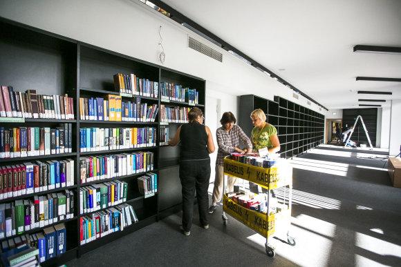 Irmanto Gelūno / 15min nuotr./Po aštuonerius metus trukusios rekonstrukcijos duris praveria Lietuvos nacionalinė biblioteka