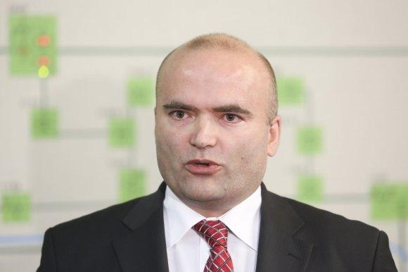 """Irmanto Gelūno / 15min nuotr./""""Vilniaus energijos"""" viceprezidentas Alexanderis Husty"""