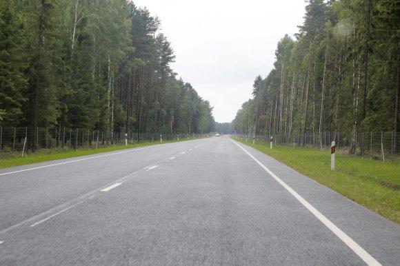 Irmanto Gelūno/15min.lt nuotr./Vos už 70 kilometrų nuo palangos poilsiautojų laukia Liepoja