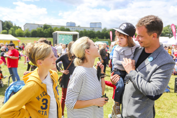"Irmanto Gelūno / 15min nuotr./Vilniuje ""Arklio Dominyko pasakų festivalis"" suburė šeimas"