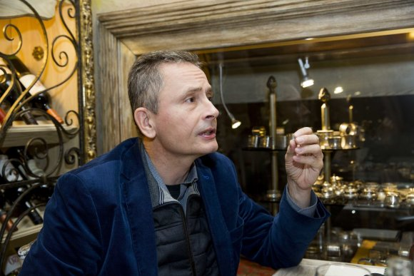 Irmanto Gelūno / 15min nuotr./Lenkijos žurnalistas Piotras Skwiecinskis