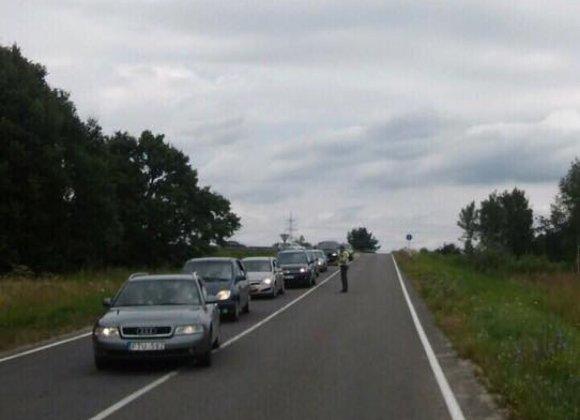 Lietuvos policijos nuotr./Reido akimirka