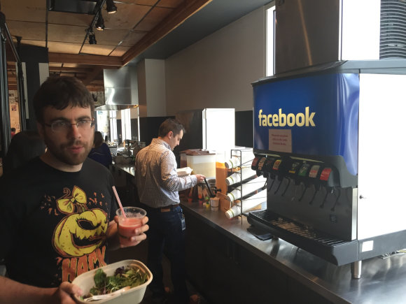 "Tomo Balžeko/15min.lt nuotr./Apsilankymas ""Facebook"" biure"
