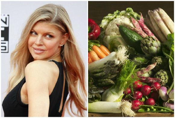 """""""Scanpix""""/""""Vida Press"""" nuotr./Ką valgo gražuolės: Fergie"""