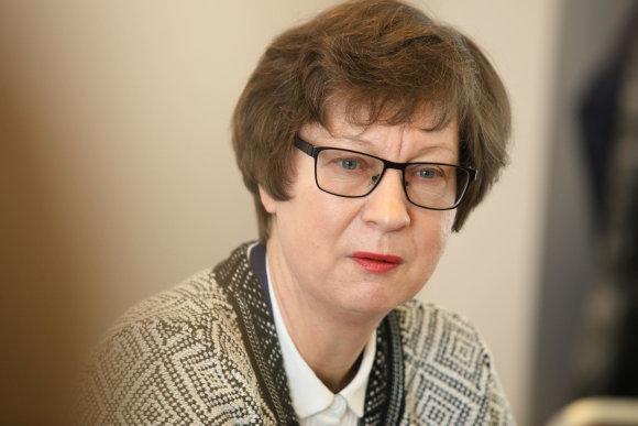 Eriko Ovčarenko / 15min nuotr./Kauno klinikų Nefrologijos klinikos vadovė prof. Inga Bumblytė