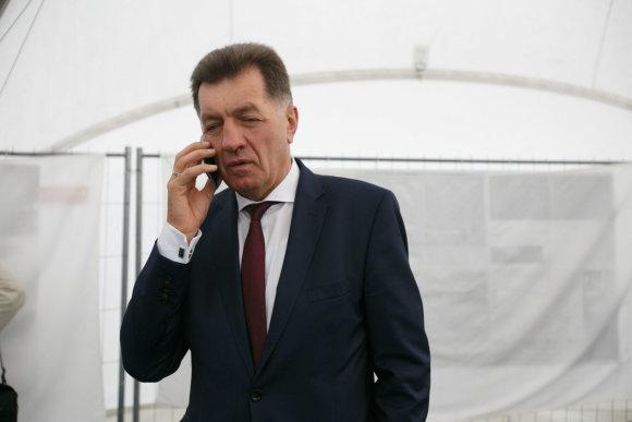 Eriko Ovčarenko / 15min nuotr./Premjeras Algirdas Butkevičius
