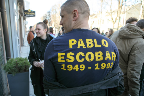 Eriko Ovčarenko / 15min nuotr./Juano Pablo Escobaro susitikimas su skaitytojais