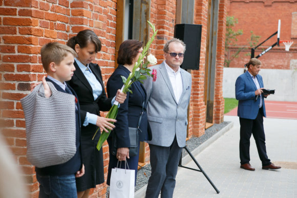 Eriko Ovčarenko / 15min nuotr./Kaune atidaryta Karalienės Mortos mokykla
