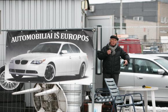 Eriko Ovčarenko / 15min nuotr./Kauno automobilių turguje
