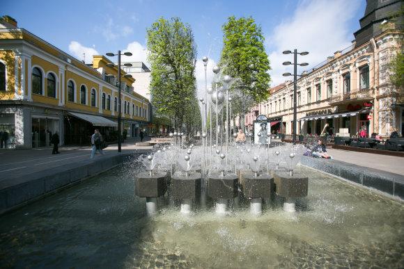 Eriko Ovčarenko/15min.lt nuotr./Kauno fontanai