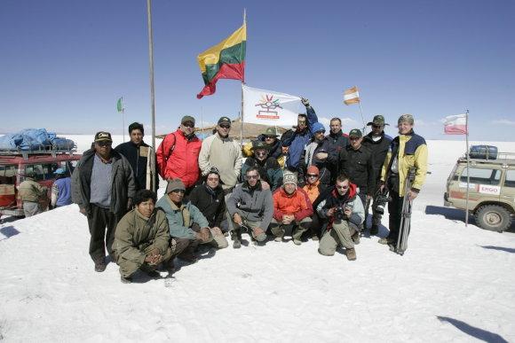 Ekspedicija Bolivijoje