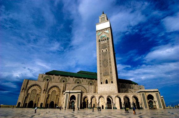Kelioniuakademija.lt nuotr./Hasano II mečetė