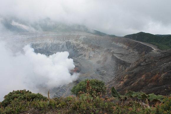Ugnikalnis Kosta Rikoje