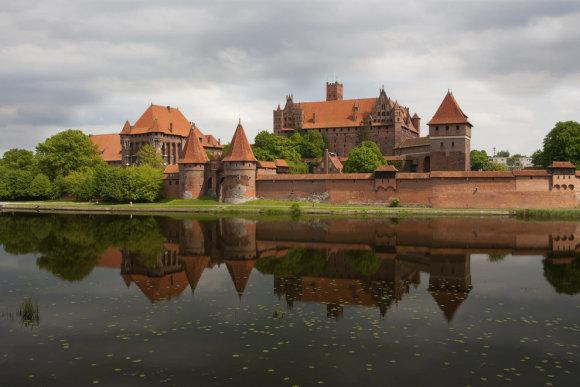 Polandmfa nuotr./Marienburgo pilis