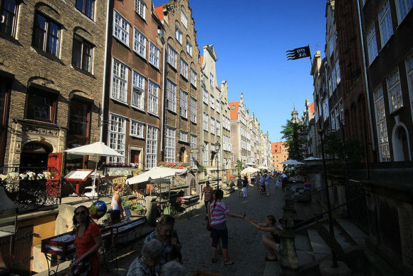 Mariackos gatvė Gdanske