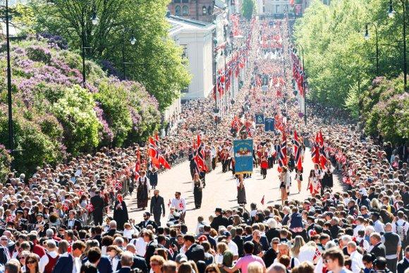 123rf.com nuotr./Norvegijos Konstitucijos diena