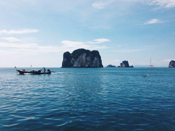 Asmeninio albumo nuotr./Salos Tailande