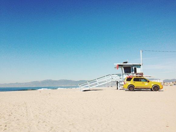 Asmeninio albumo nuotr./Santa Monika, Los Andželas, Kalifornija, JAV