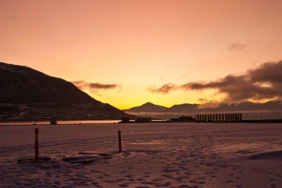 123rf.com nuotr./Saulėlydis Tromsėje