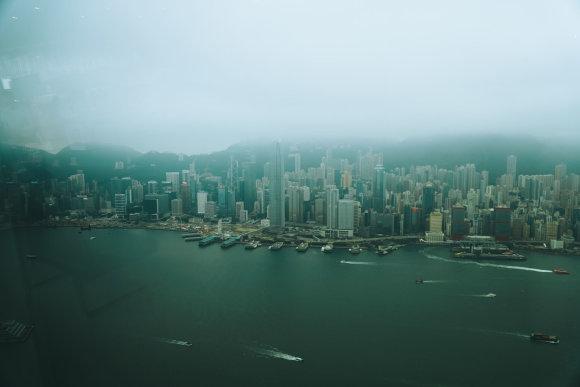 Asmeninė nuotr./Honkongo panorama