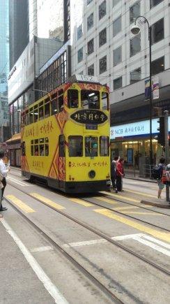 Vaido Mikaičio nuotr./Honkonge kursuoja dviaukščiai tramvajai