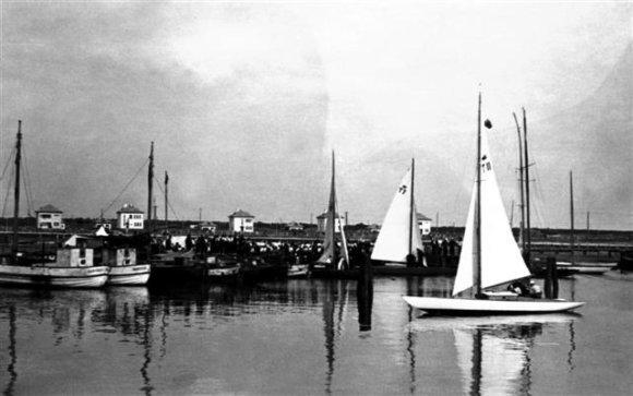Lietuvos jūrų muziejaus nuotr./Šventosios uostas 1939 m.