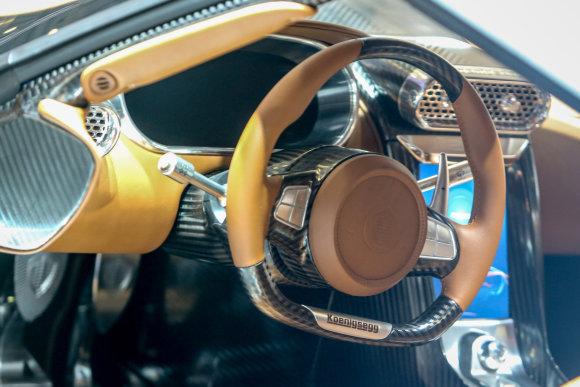 """Juliaus Kalinsko/15min.lt nuotr./""""Koenigsegg Regera"""""""