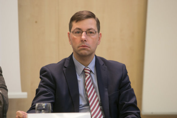 Juliaus Kalinsko/15min.lt nuotr./Gintaras Steponavičius