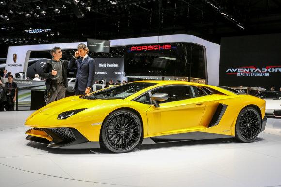 "Juliaus Kalinsko/15min.lt nuotr./""Lamborghini Aventador SV"""