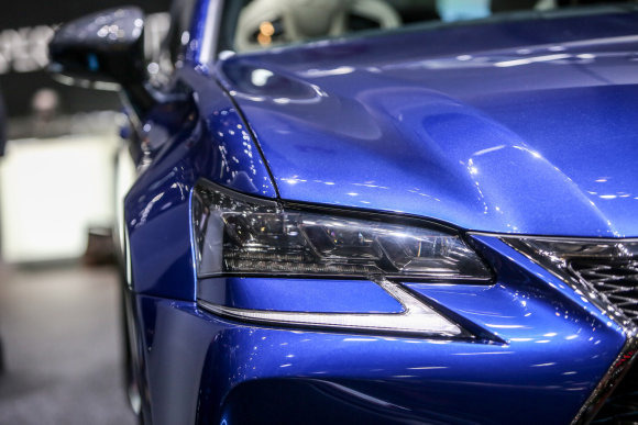 "Juliaus Kalinsko/15min.lt nuotr./""Lexus GS-F"""
