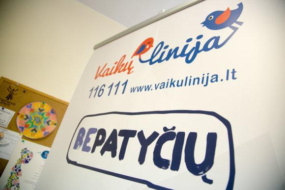Juliaus Kalinsko / 15min nuotr./Vaikų linijos biuras Vilniuje