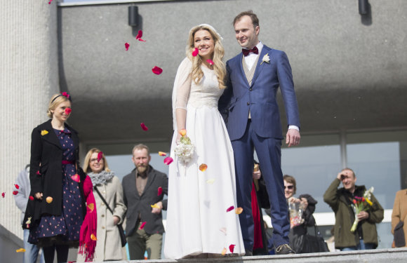 Luko Balandžio/15min.lt nuotr./Remigijus Jančauskas ir Kotryna Daujotaitė