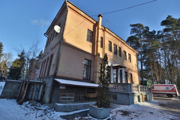 Juliaus Kalinsko/15min.lt nuotr./Vilniaus Infekcinių ligų ir tuberkuliozės ligoninė
