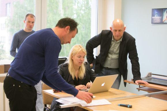 Juliaus Kalinsko/15min.lt nuotr./Vilniaus paslaugų verslo darbuotojų profesinio rengimo centre