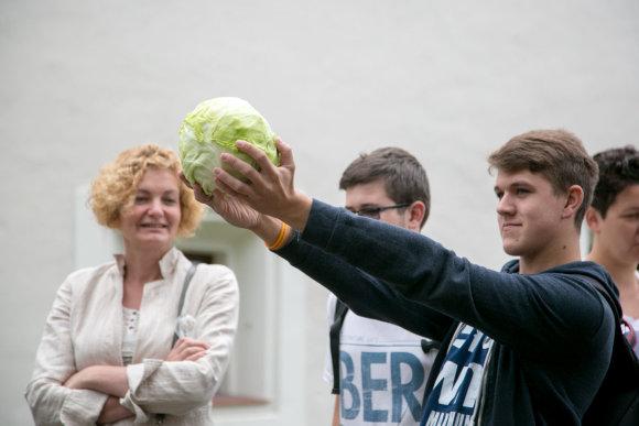 Juliaus Kalinsko / 15min nuotr./Protesto akcija prie Švietimo ir mokslo ministerijos