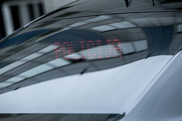 "Juliaus Kalinsko / 15min nuotr./Nežymėtas ""Audi A6 quattro""  policijos automobilis"