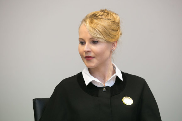 Juliaus Kalinsko / 15min nuotr./Advokatė Lina Gudaitė
