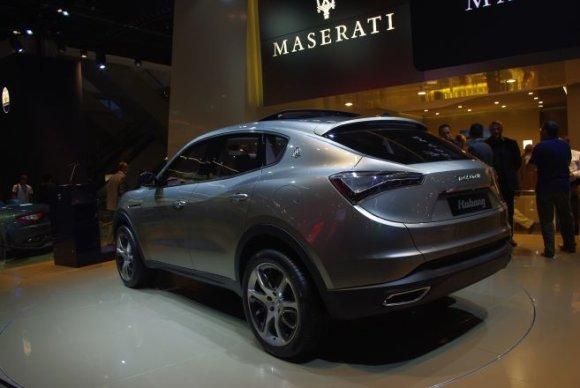"""Andriaus Kildos/GAZAS.LT nuotr./Visureigis stilingai – """"Maserati Kubang"""""""