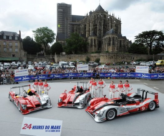 """Le Mans 24h"" lenktynininkai"