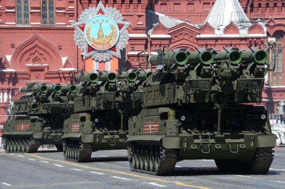 """Scanpix""/""RIA Novosti""/""Host Photo Agency""/Iliya Pitalev nuotr./""BUK-M2/SA-17 Grizzly"""